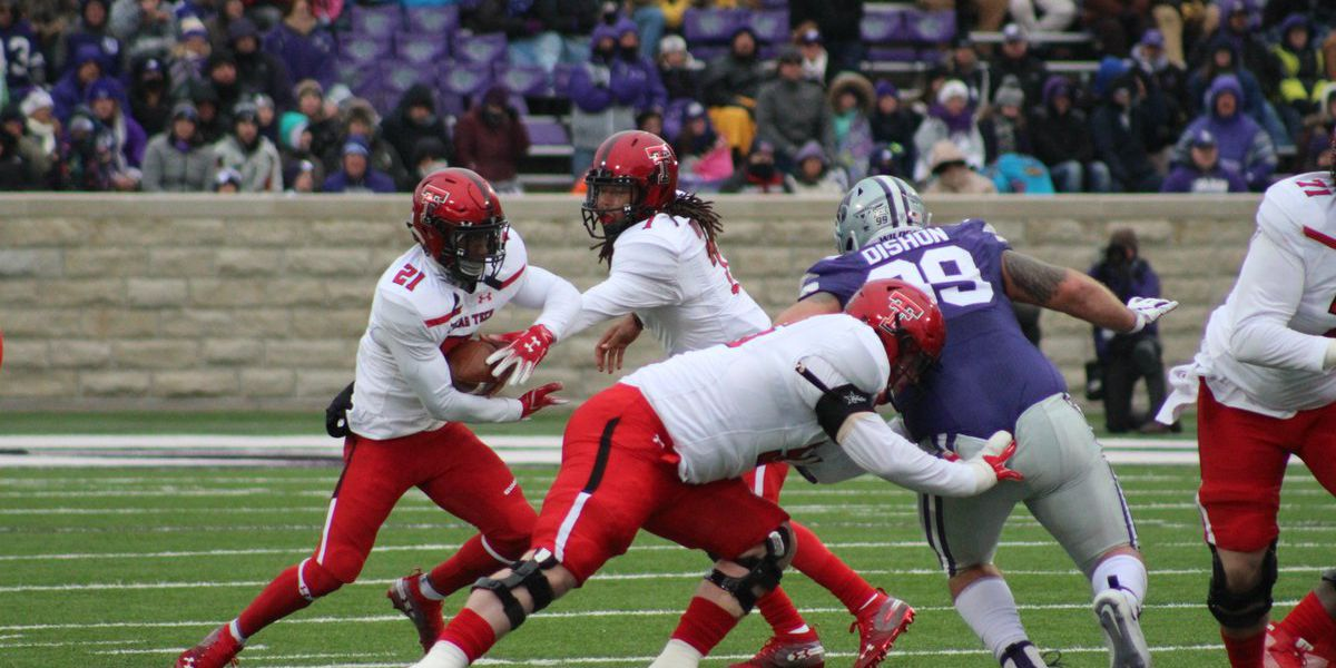 Red Raiders shut down by Kansas State , 21-6