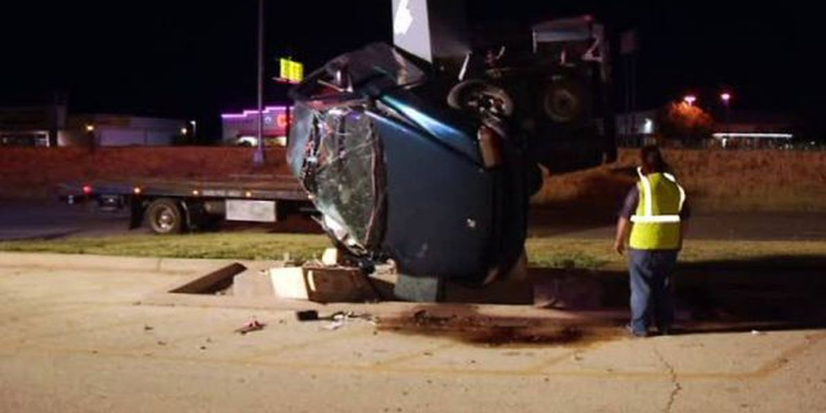 Abilene man recovering after high speed wreck