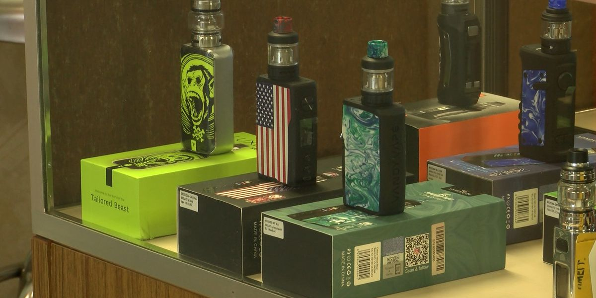 Lubbock vape shops defend flavored products in wake of White House criticism