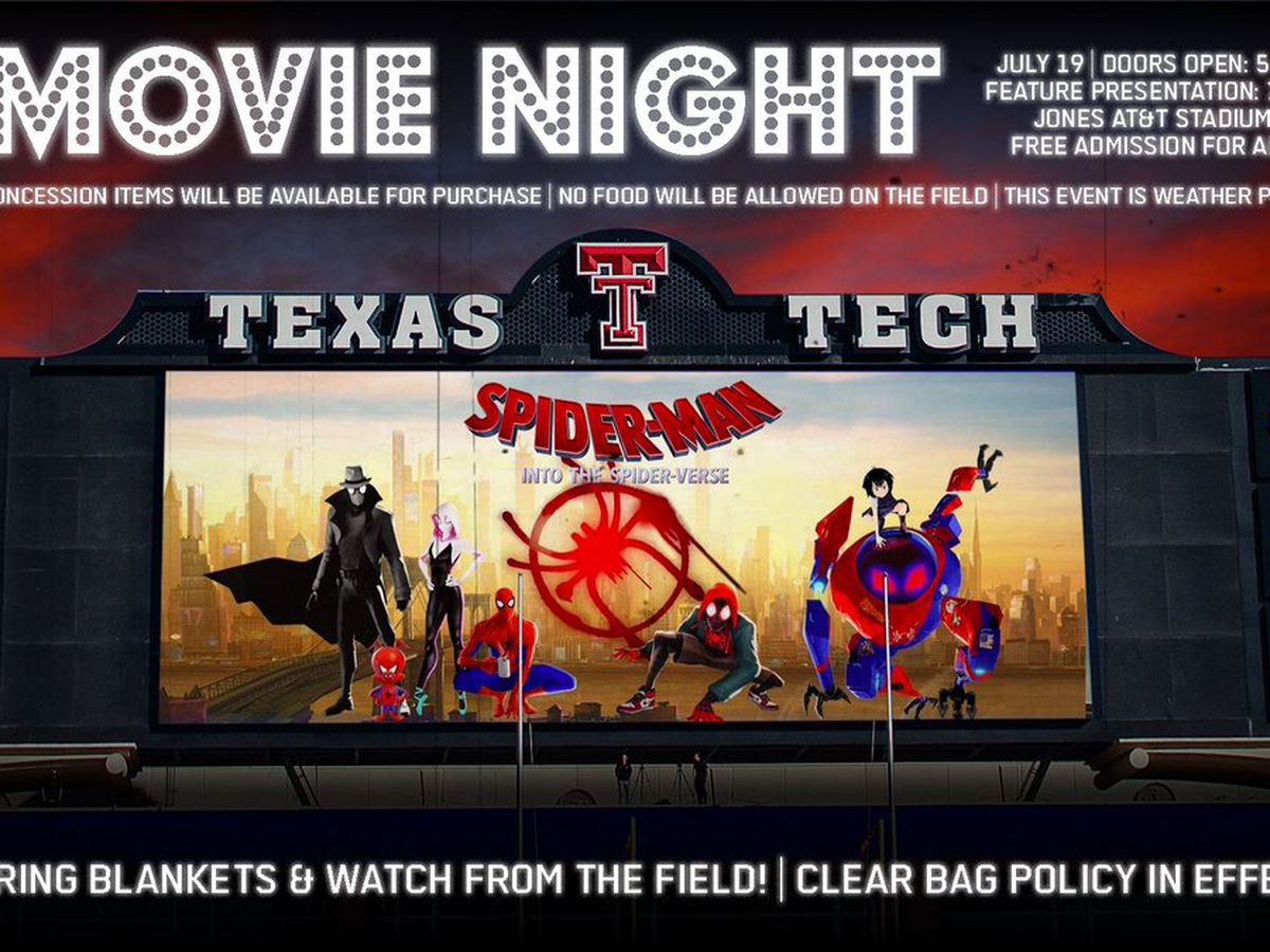 Tech Athletics to host free movie night on Friday