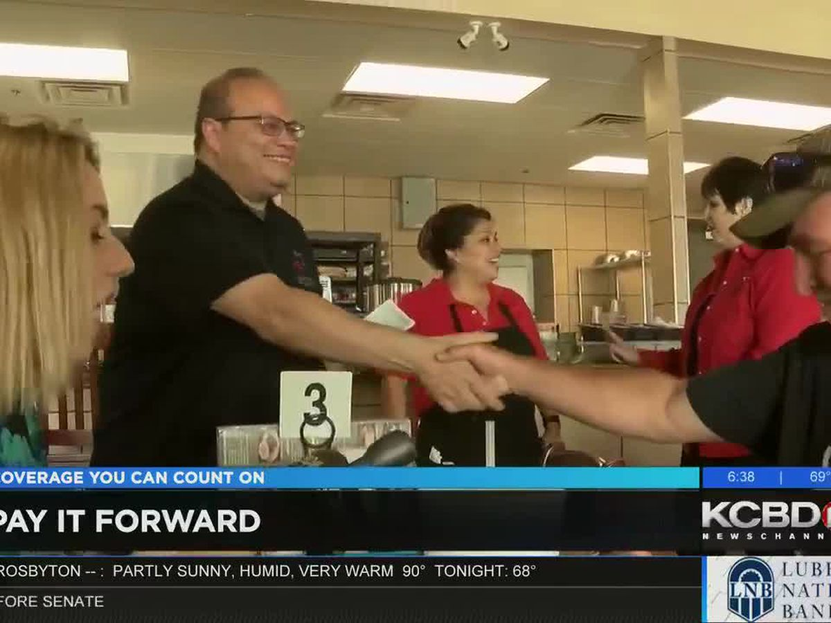 Pay It Forward: Paying for meals at Tech Cafe