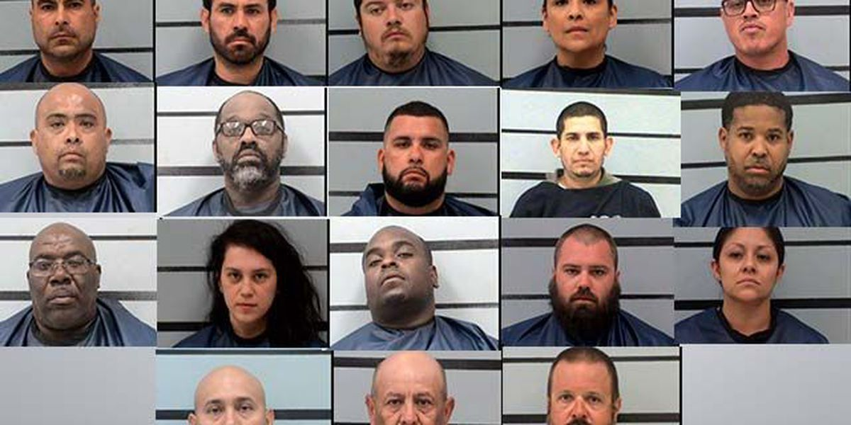 PHOTOS: 20 charged in West Texas drug conspiracy