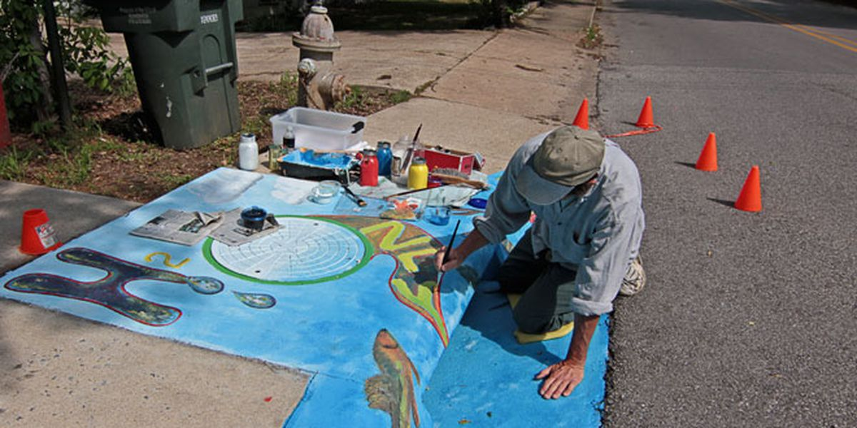 Artists needed for Lubbock's second Storm Drain Art Project