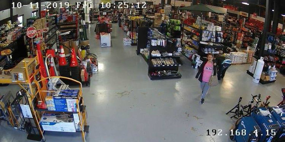 Seminole police seek information on woman accused of stealing