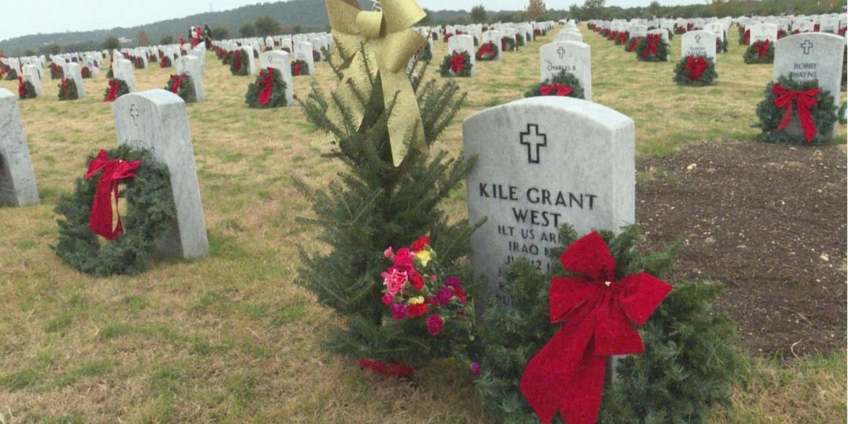 Wreaths for Vets honors thousands of fallen soldiers in Texas