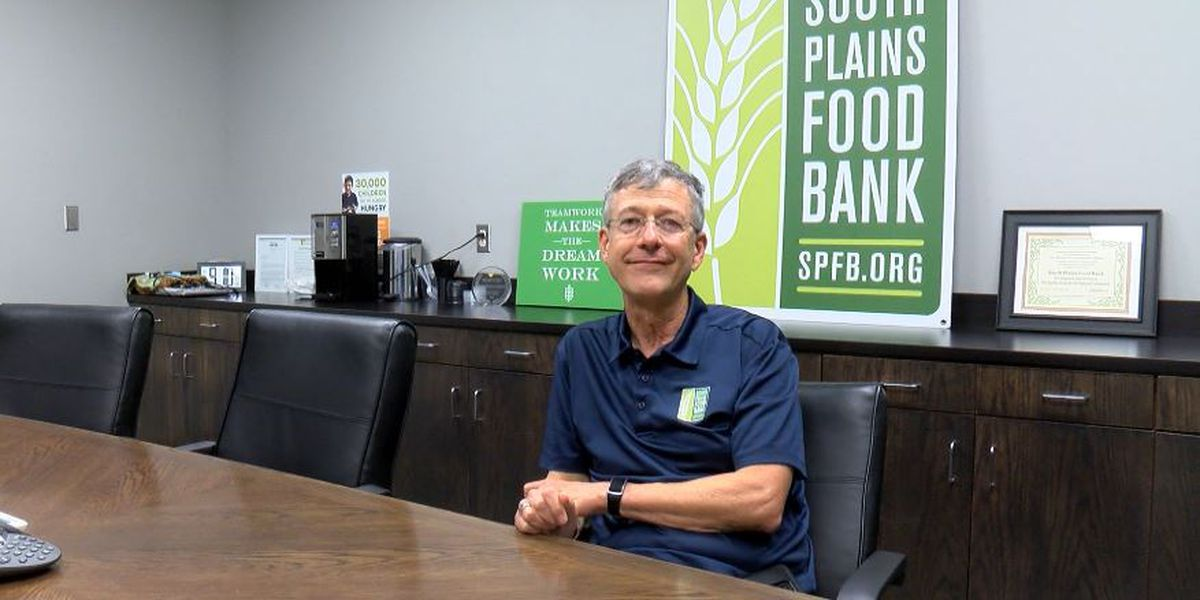 South Plains Food Bank CEO David Weaver retires after 27 years of fighting hunger