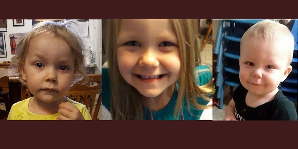 3 missing Montana children safe, 2 adults arrested