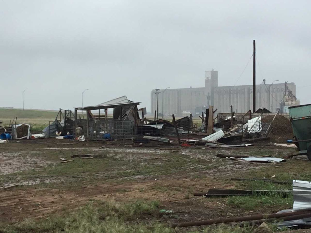 National Weather Service releases damage survey from EF-2 tornado in Plainview
