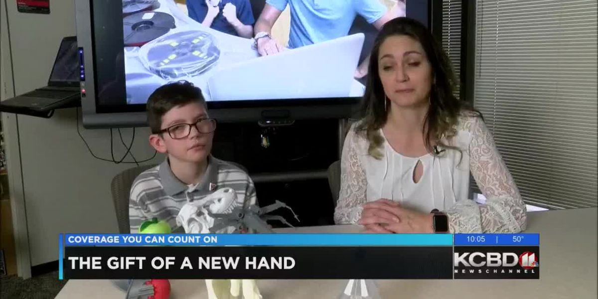 Child receives gift of a new hand