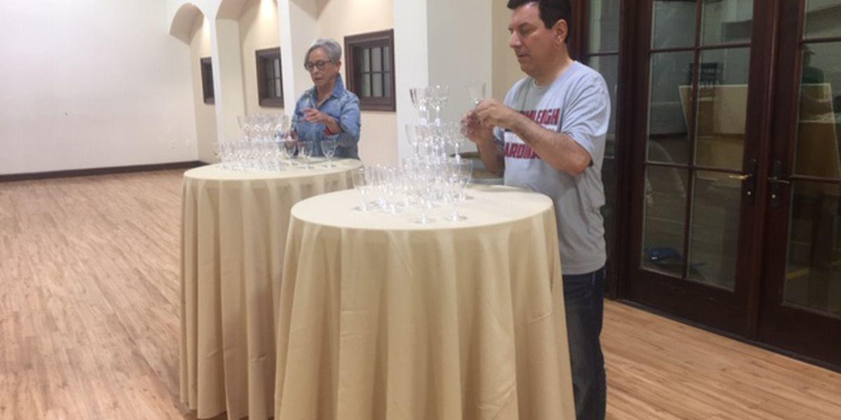 I Beat Pete: Wine Glass Tower