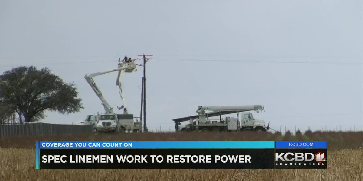 Linemen work around the clock to restore power following severe weather