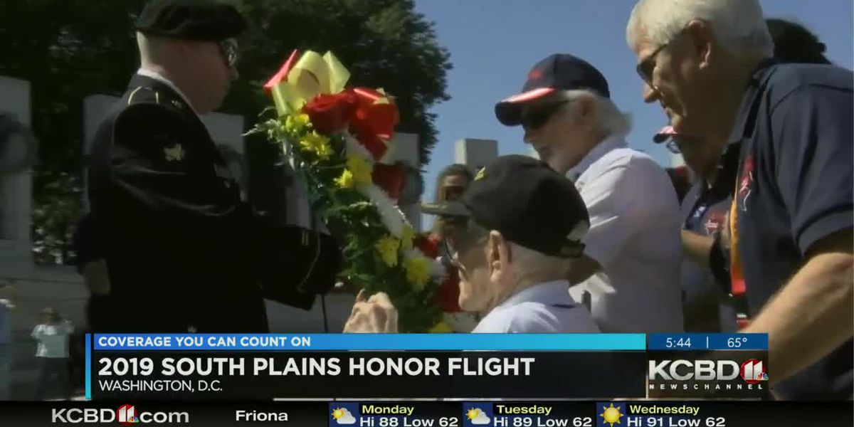 Daybreak Today - 2019 South Plains Honor Flight update