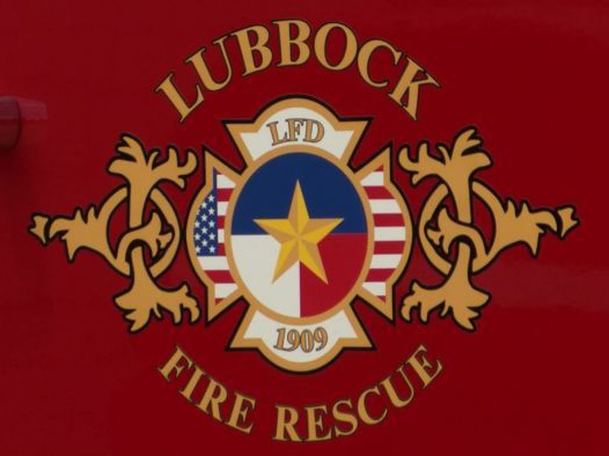 LFR conducting live fire training at Lubbock airport