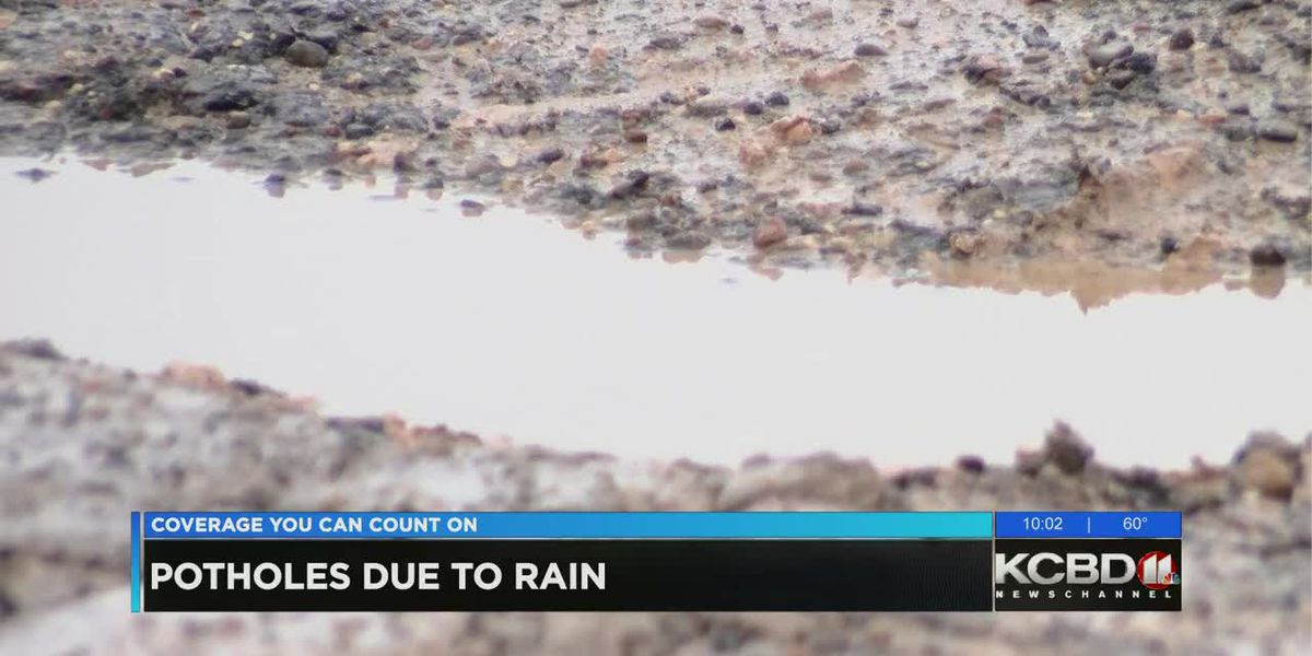 Increase in rain bringing increase in potholes to Lubbock County