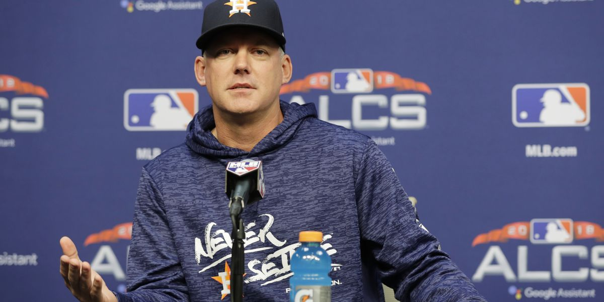 AP source: Indians complain to MLB about Astros filming