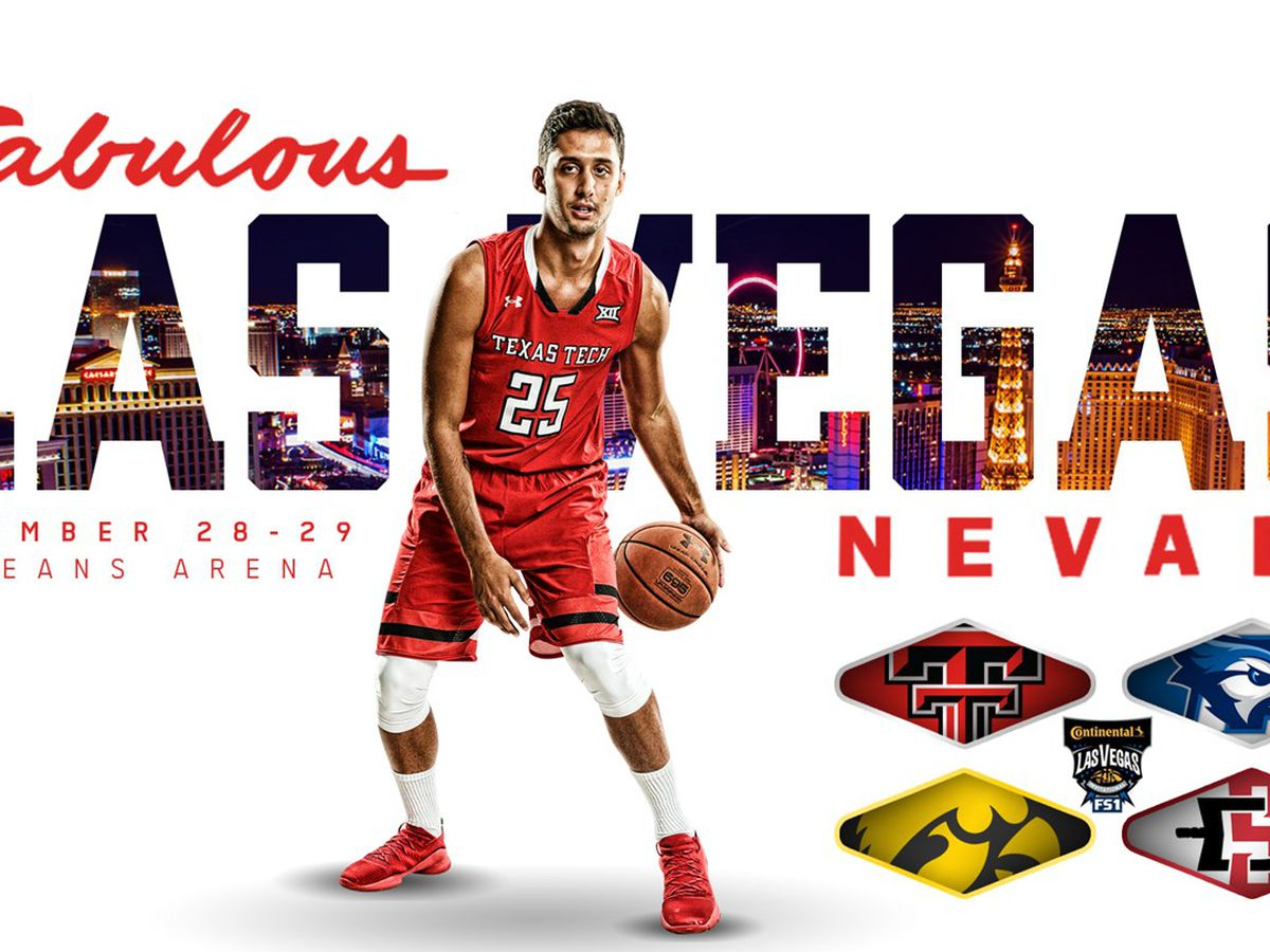 Red Raiders to Play in Continental Tire Las Vegas Invitational
