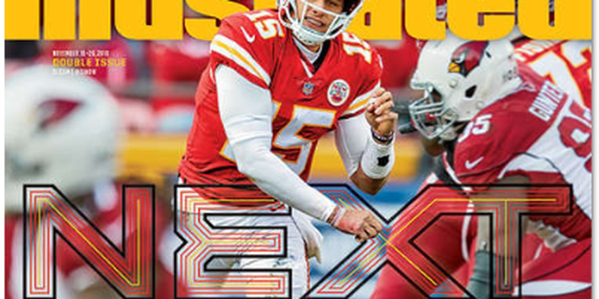 Patrick Mahomes gets first Sports Illustrated cover