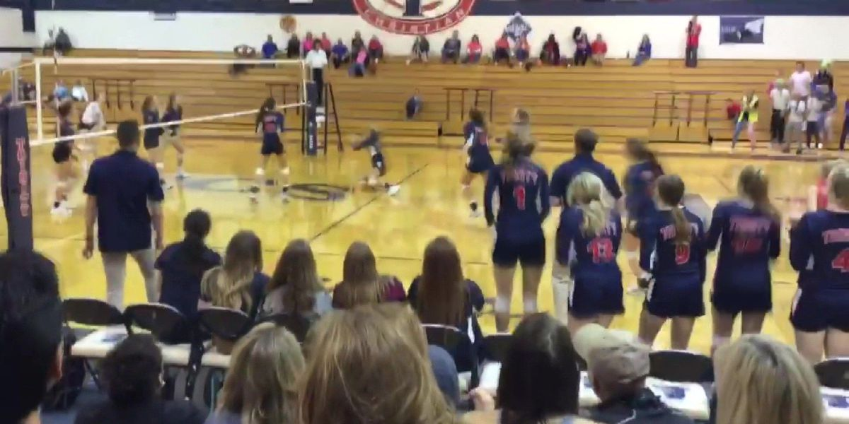 Sports Xtra Play of the Week: Trinity Christian Volleyball