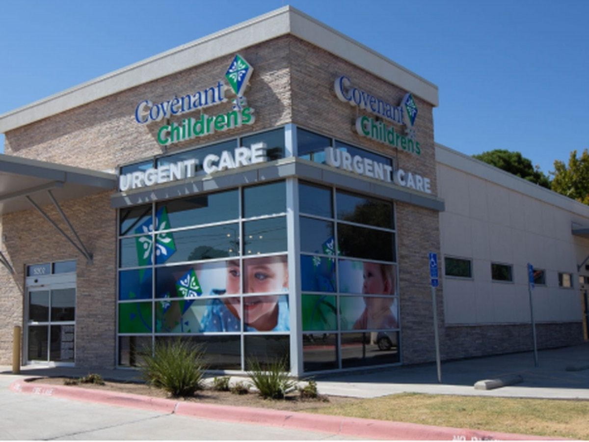 Covenant Children's opens new pediatric urgent care center