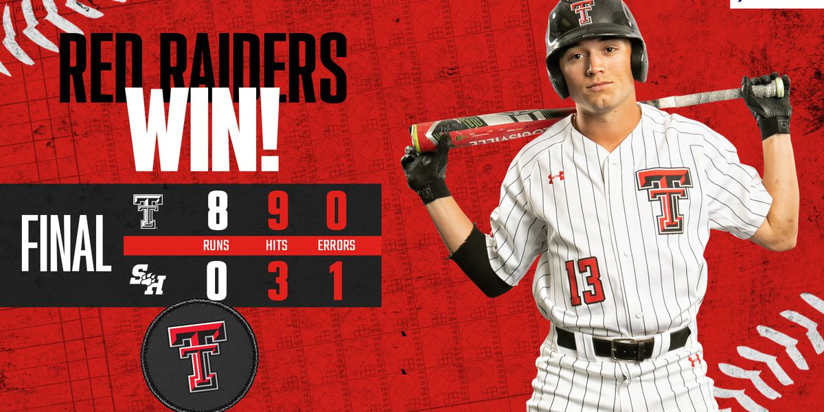 Texas Tech shuts out Sam Houston State 8-0