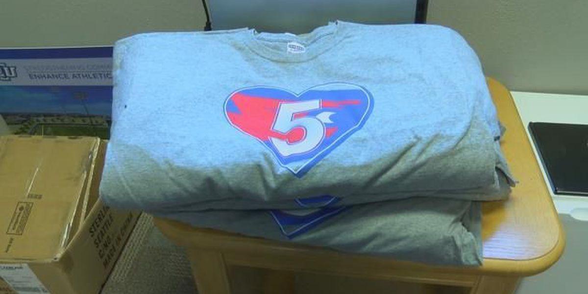 LCU Athletics selling t-shirts to help Malori Maddox