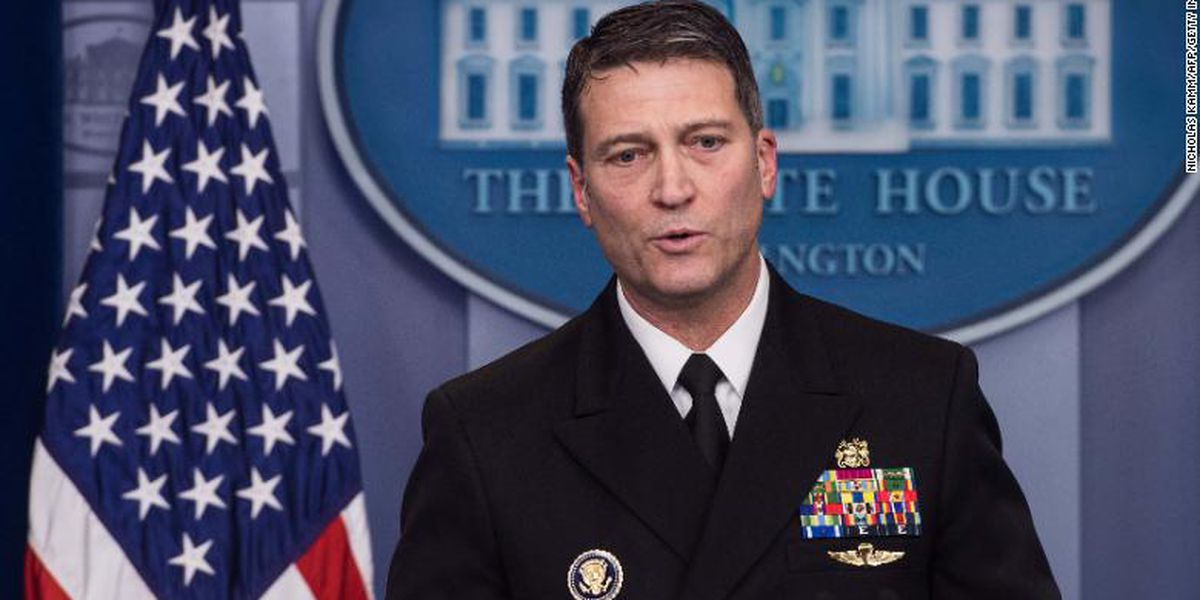 Ronny Jackson, former White House doctor and Trump VA nominee, running for Texas congressional seat