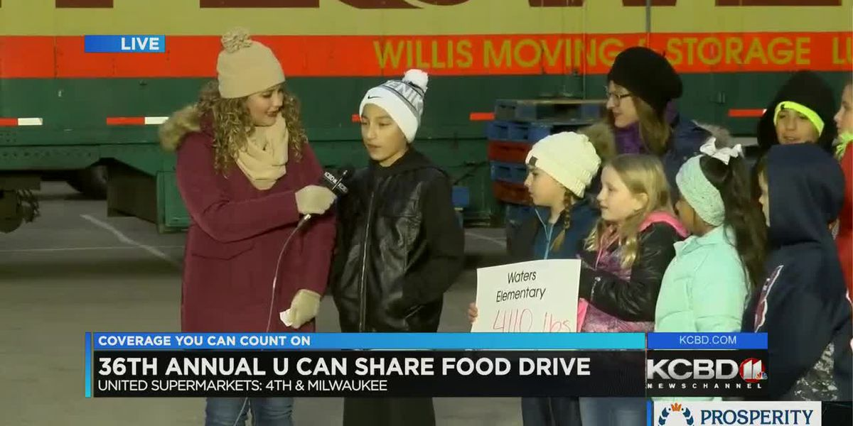 U Can Share Food Drive: Day 5 - 5 p.m.