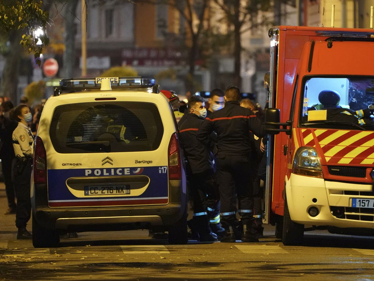 Orthodox priest shot at church in France, attacker at large