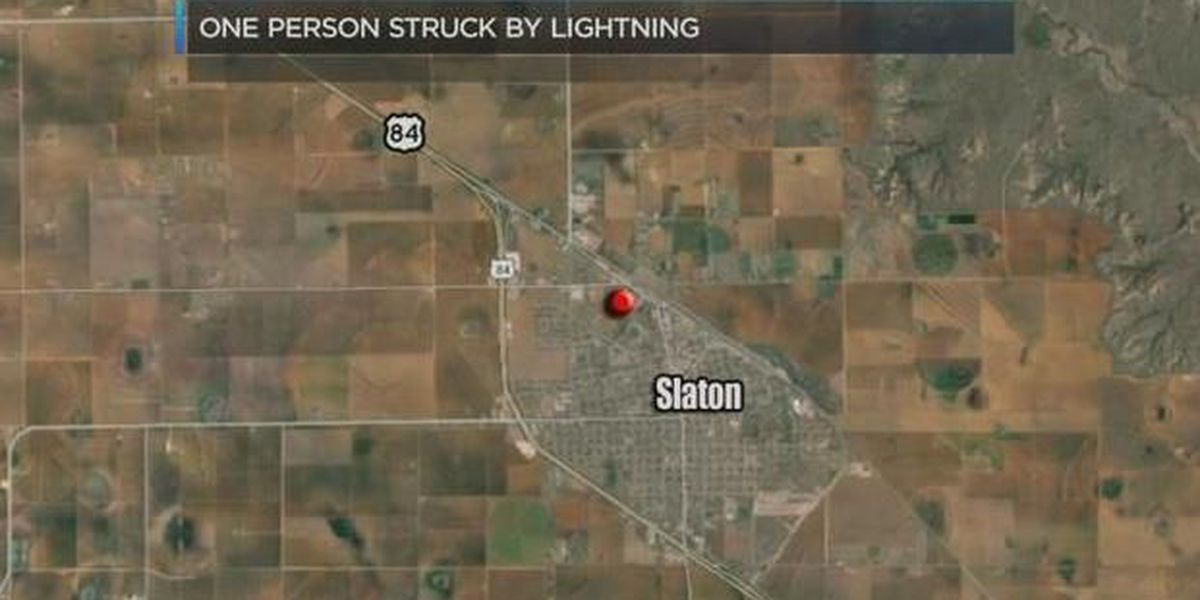 Victim dies after being struck by lightning in Slaton