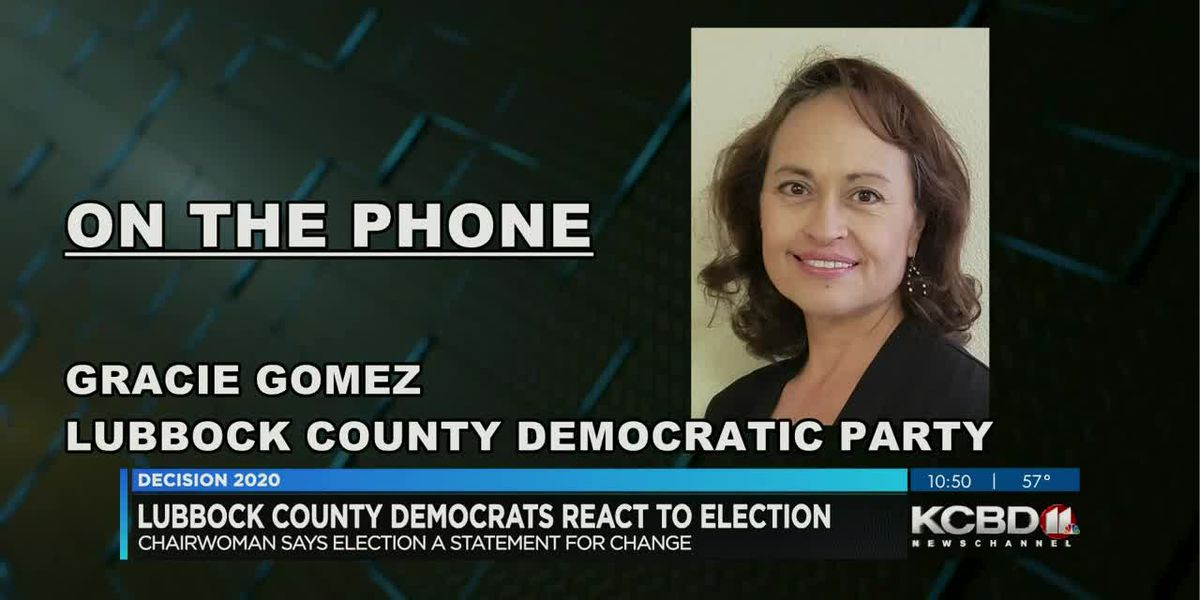 Lubbock County Democrats call for unity after contentious election
