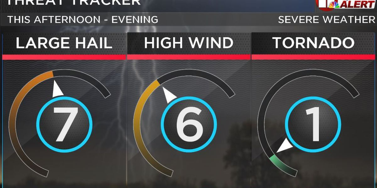 First Alert Weather Day: Severe storms heading NW on Monday night