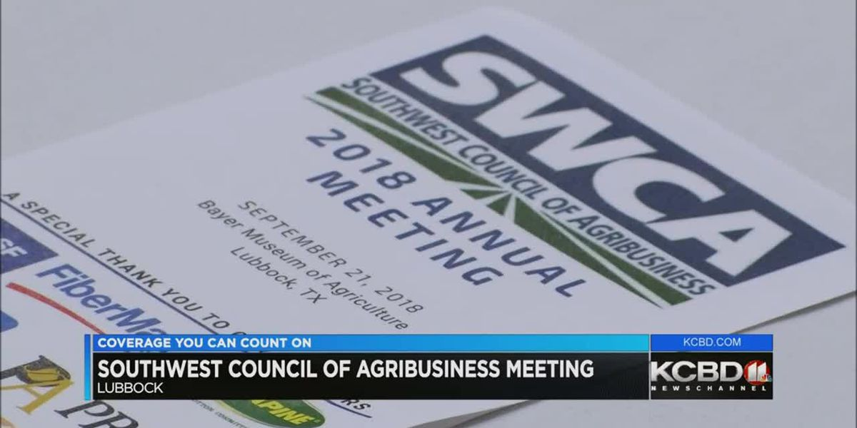 Southwest Council of Ag Advisors annual meeting