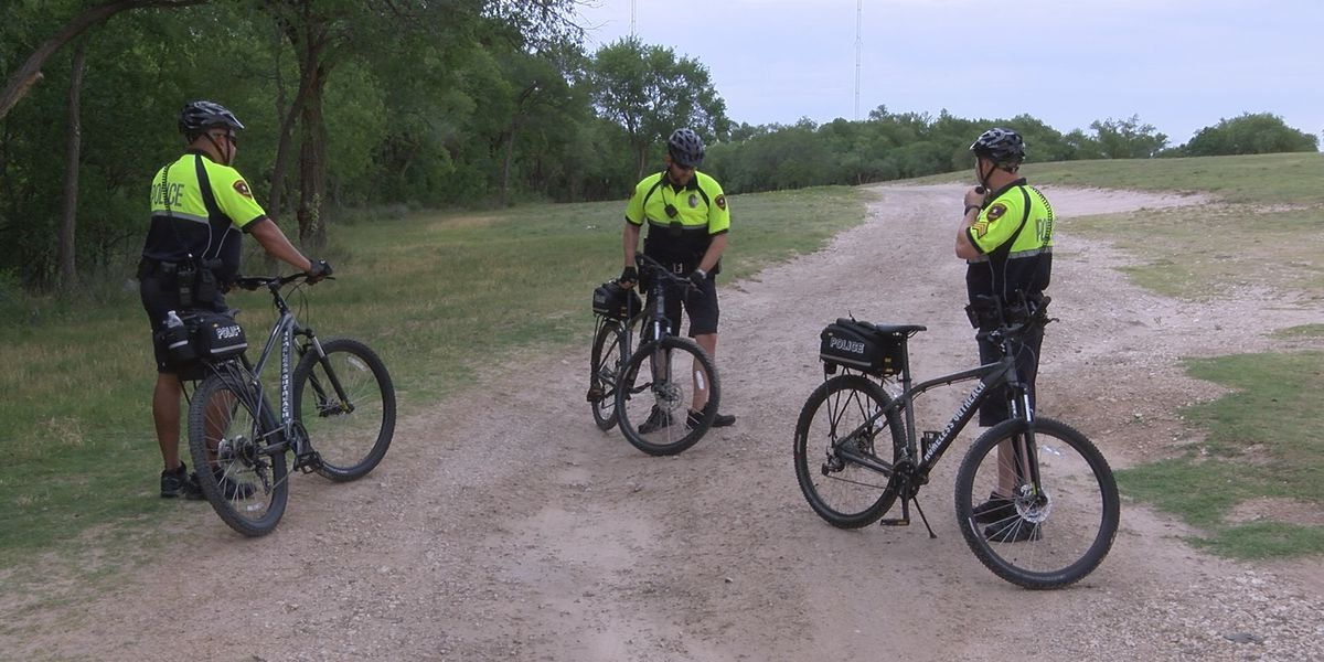 LPD's Homeless Outreach Team patrolling on bicycles downtown