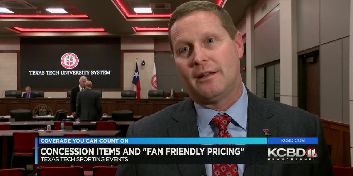 "Texas Tech Athletics is pushing ""fan friendly"" changes to food and drink concessions"