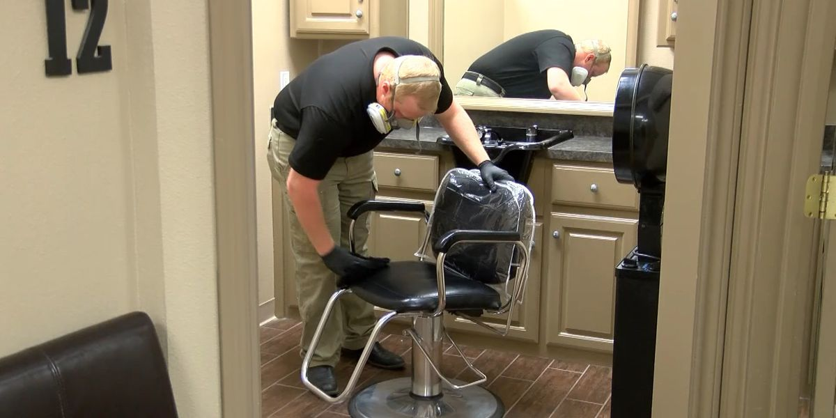 Lubbock hair salon repainting, performing deep clean before reopening on Friday