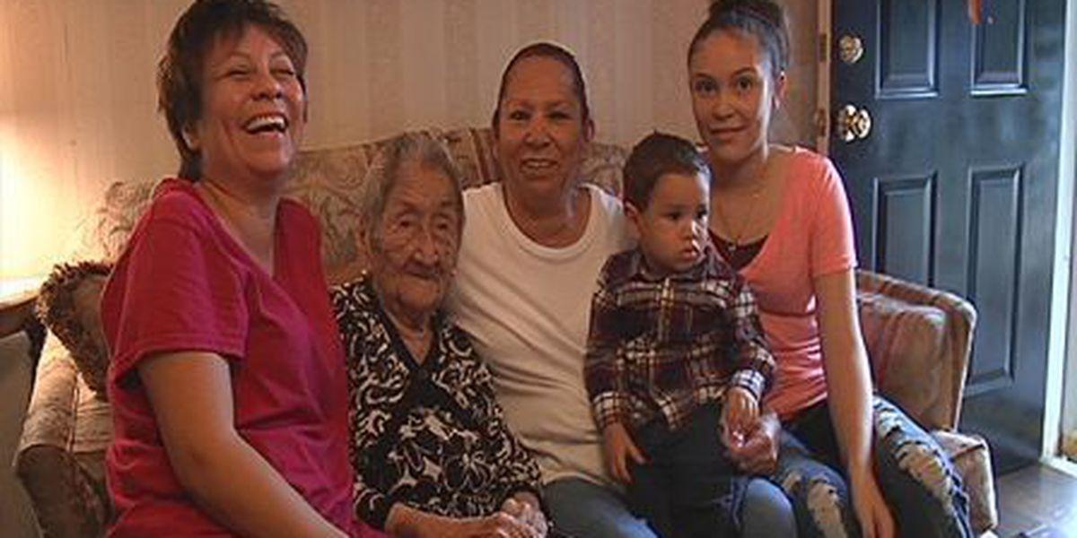 Lubbock woman celebrates 107th birthday