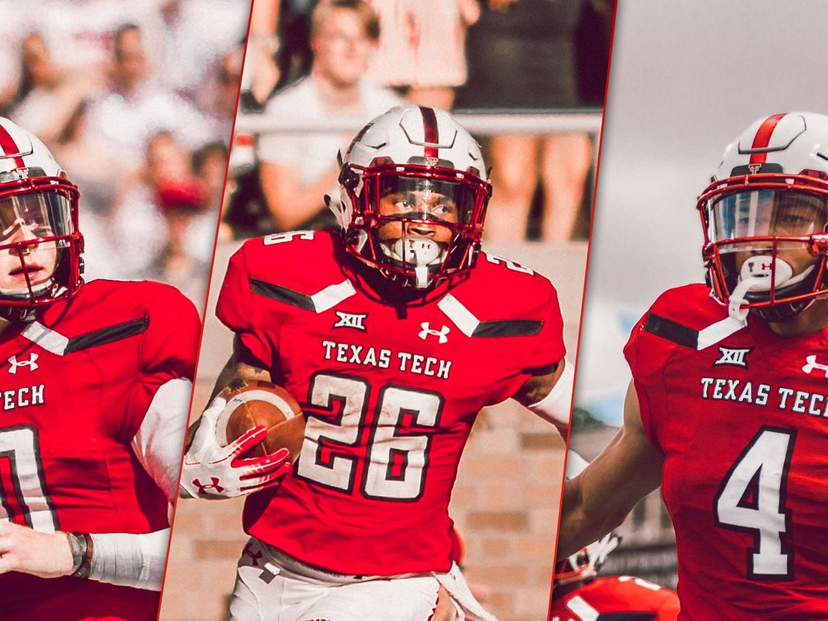 Tech football trio earns Earl Campbell Tyler Rose Honors