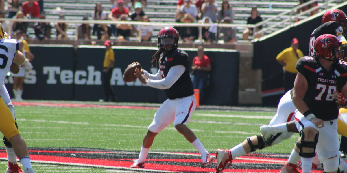 FINAL: Red Raiders fall to Mountaineers, 42-34