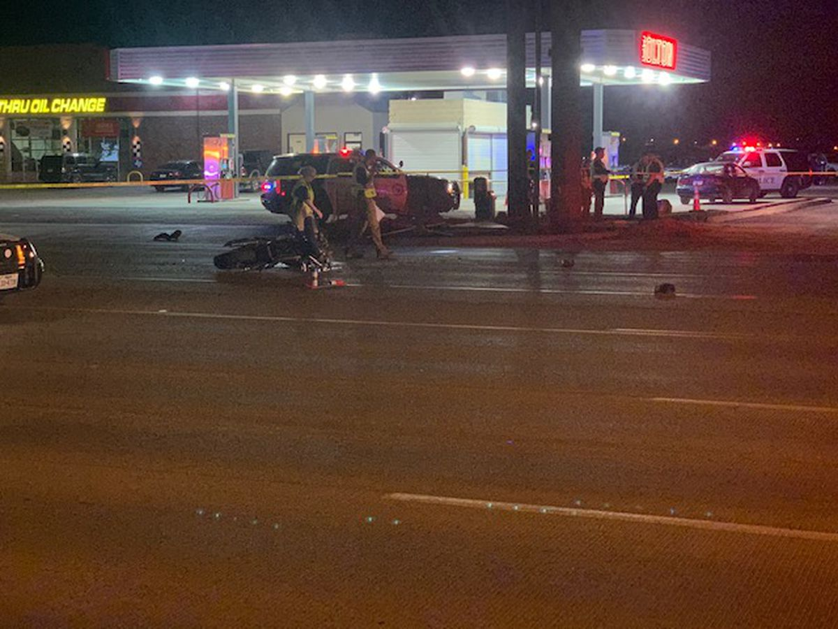 Motorcyclist dies from injuries suffered in South Lubbock crash