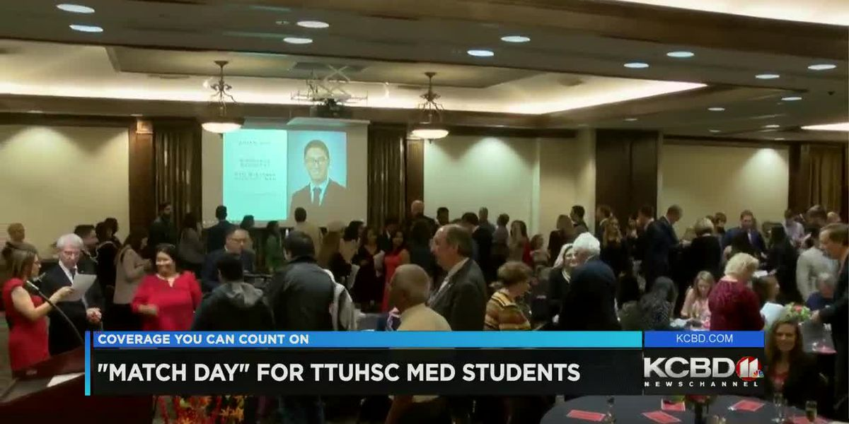 Match Day for Texas Tech med students
