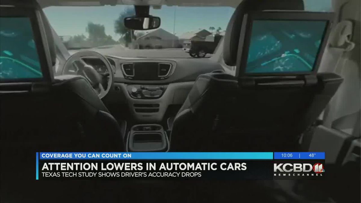 KCBD Newschannel 11 at 10 3/18/2019 Automated Cars