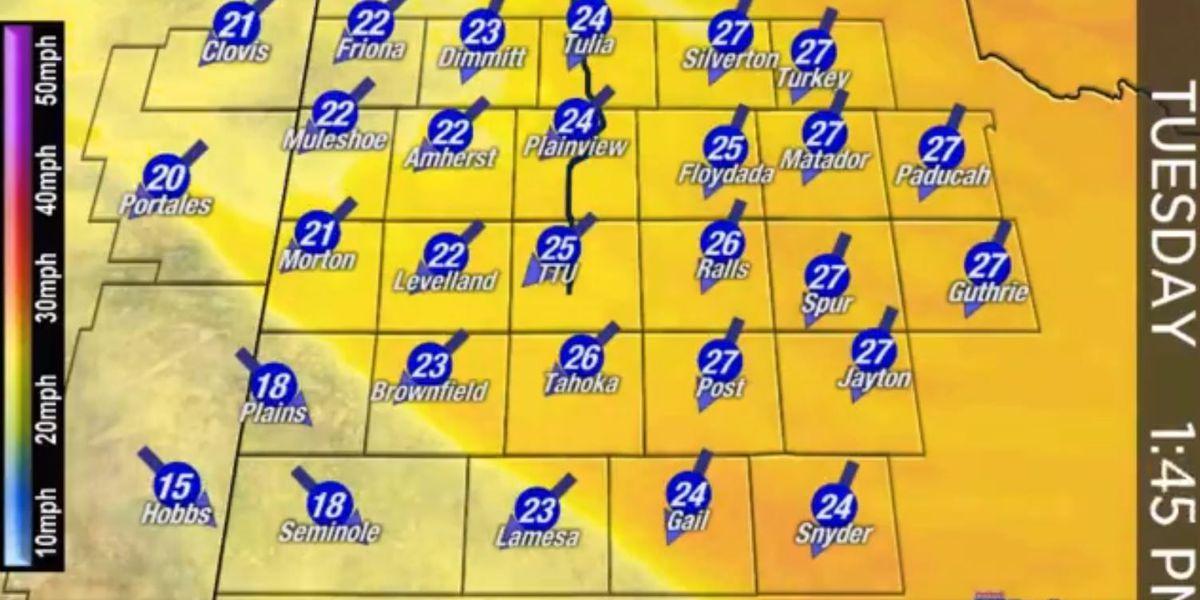 First Alert Forecast: Skirt alert, no-burn day across viewing area