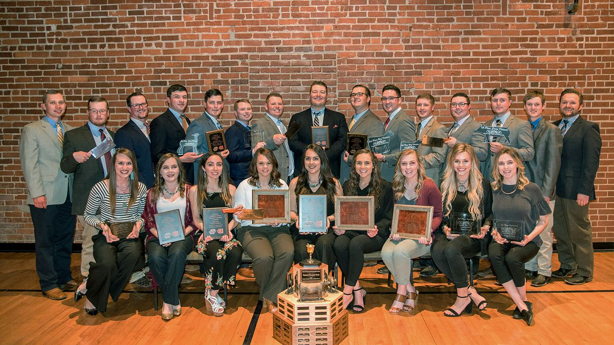 Texas Tech Meat Animal Evaluation Team Captures Fifth National Title