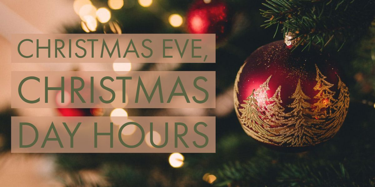 Stores open on Christmas Eve, Christmas Day