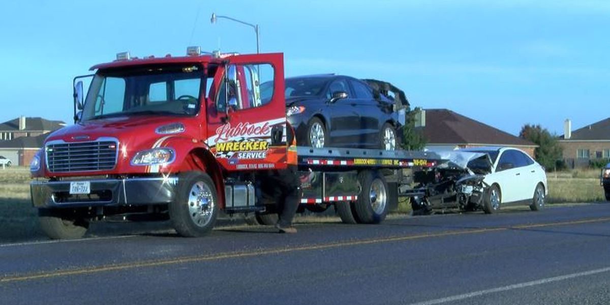 Three-car accident sends three to the hospital