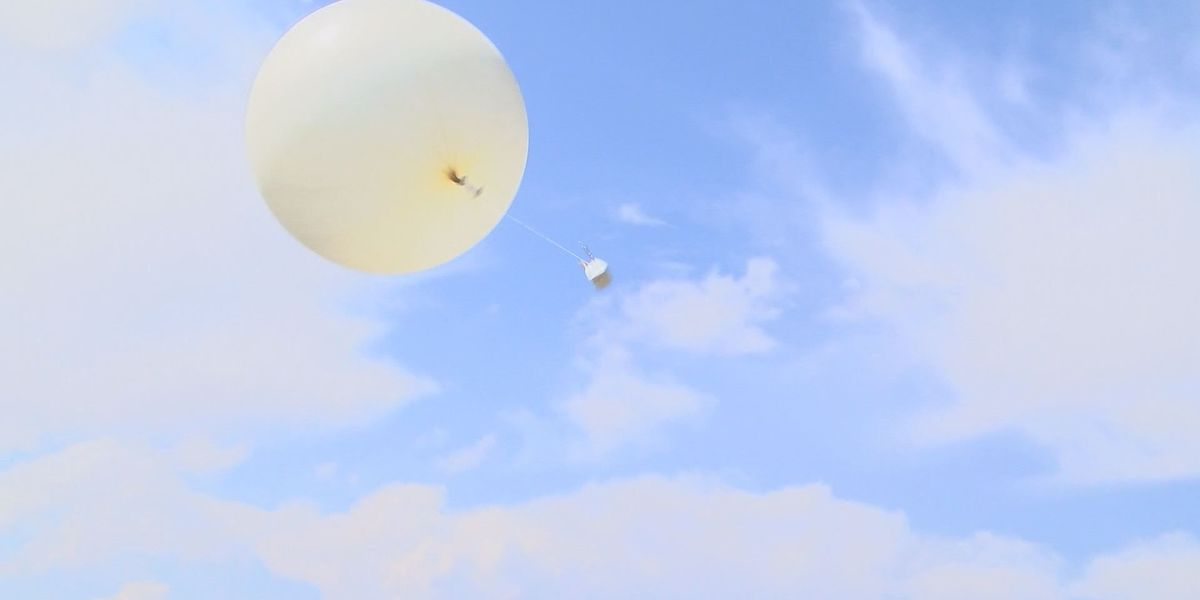 TTU Lightning Research Group using weather balloons for research