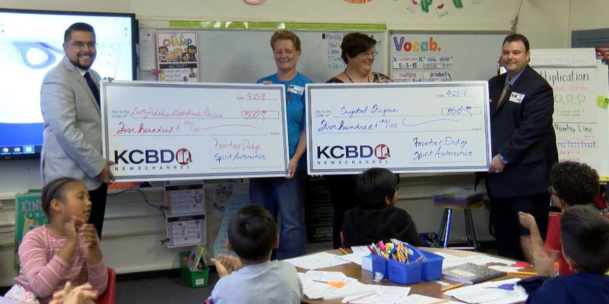 One Class At A Time: McWhorter Elementary School teacher Crystal Fuqua awarded $500