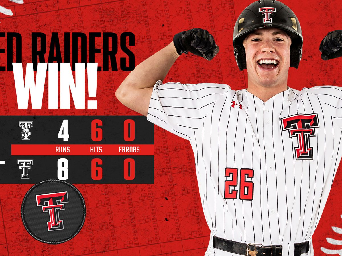 Red Raiders wins 6th in a row thanks to two homers from Braxton Fulford