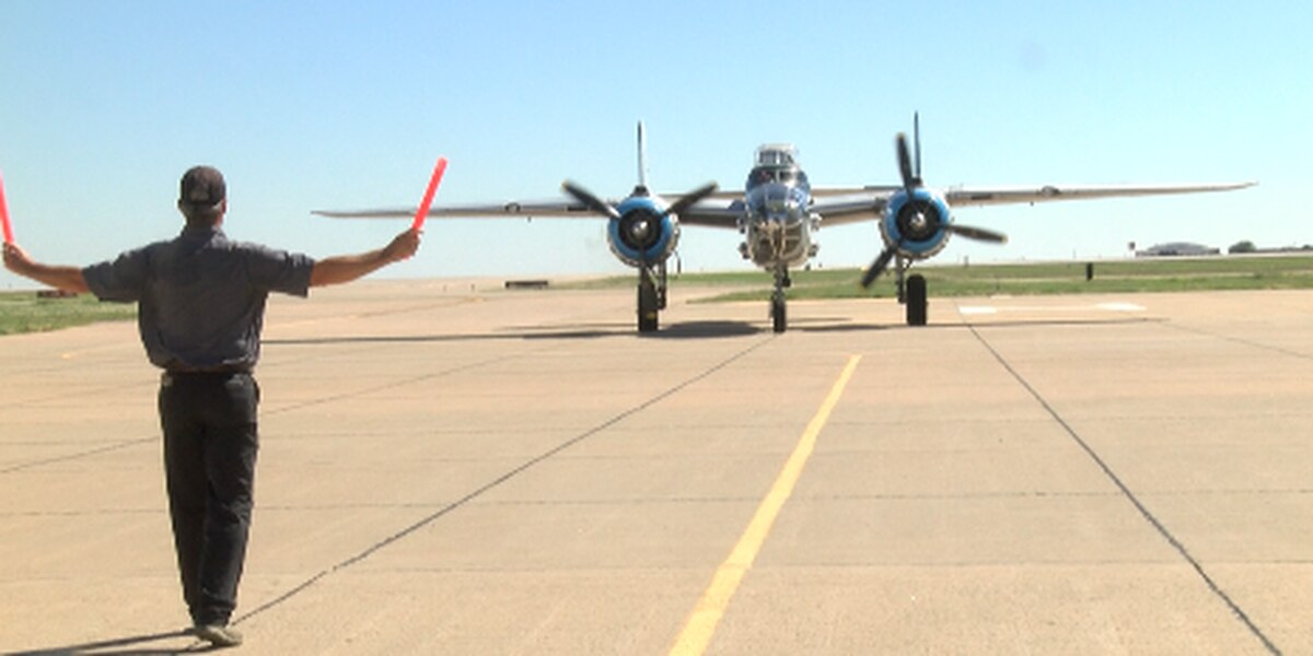 B-25 Bomber brings history to Lubbock