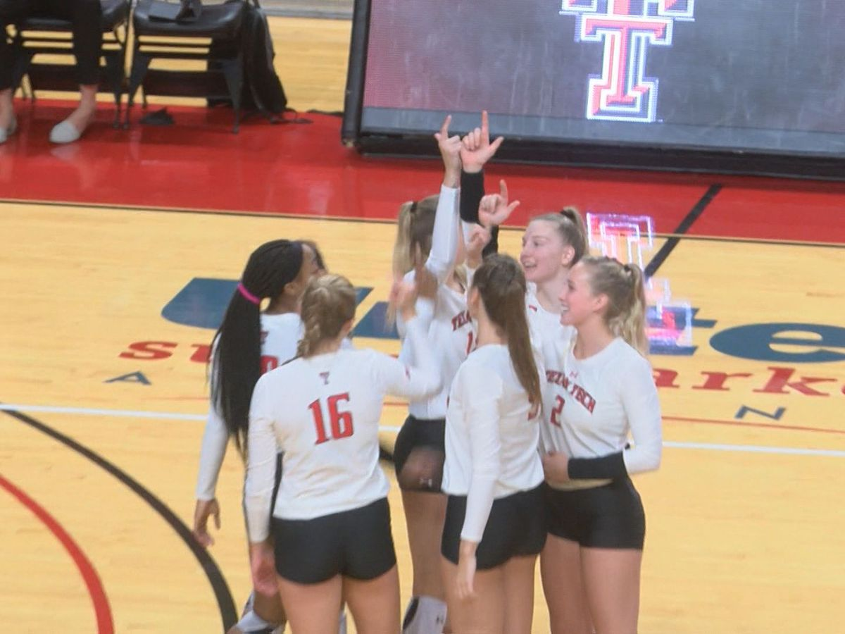 Red Raider Volleyball closes out non-conference play